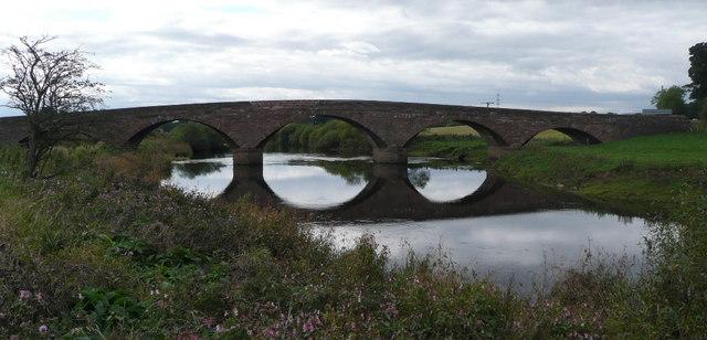 Bridge over River Isla near Coupar Angus