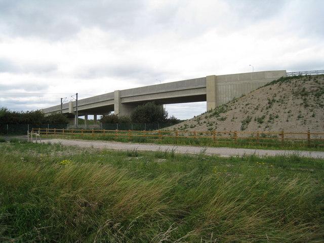 Addenbrookes road link bridge