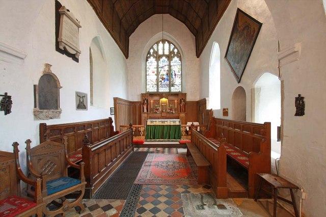 St Andrew, Sandon, Essex - Chancel