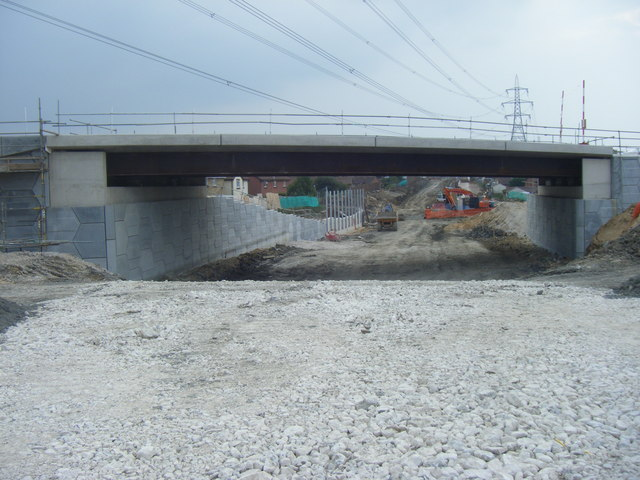 Littlemoor Road Bridge and Weymouth Relief Road