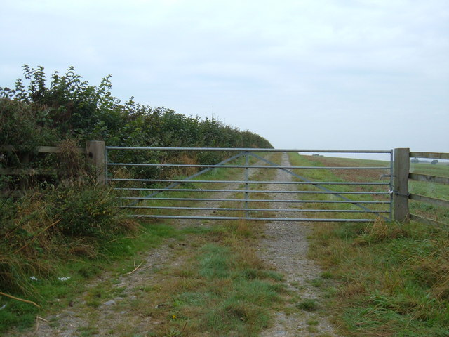 Track to  South Grange Farm