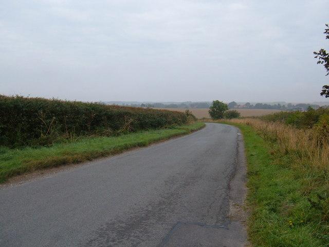 Minor Road Towards North Dalton