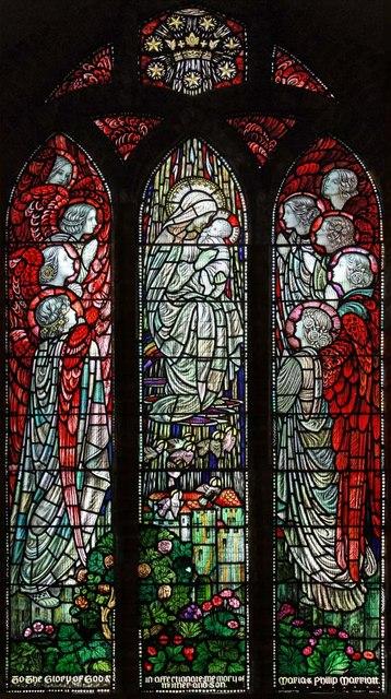 St Andrew, Sandon, Essex - West window