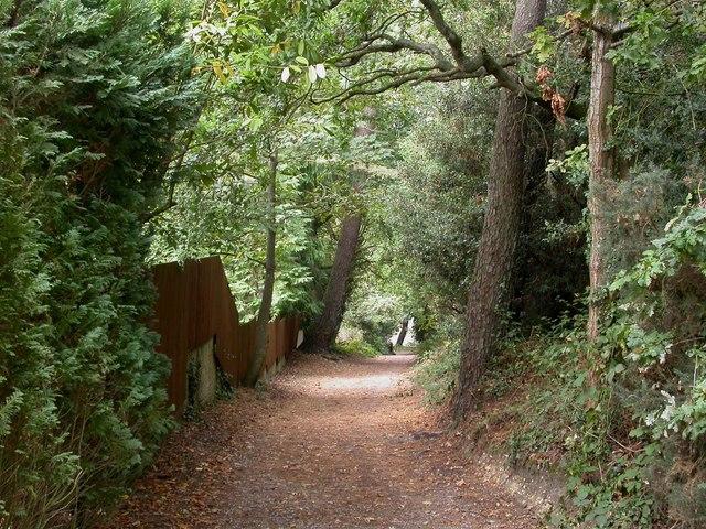 Parkstone, bridleway