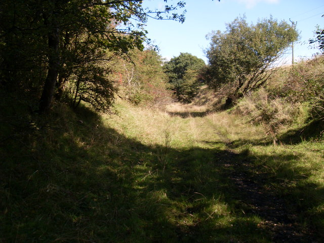 Course of old railway