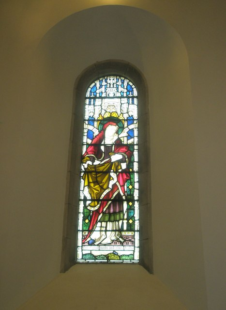 Stained glass window on the north wall at St Barnabas, Swanmore (3)