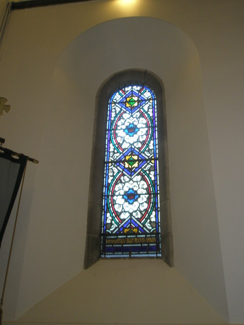 Stained glass window on the north wall at St Barnabas, Swanmore (4)