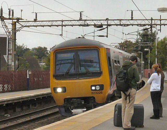Manchester Train at Cheadle Hulme