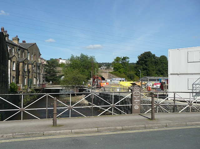 Building site, Sowerby Bridge