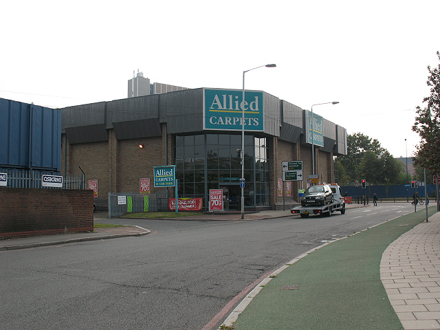 Allied Carpets, Thurston Road