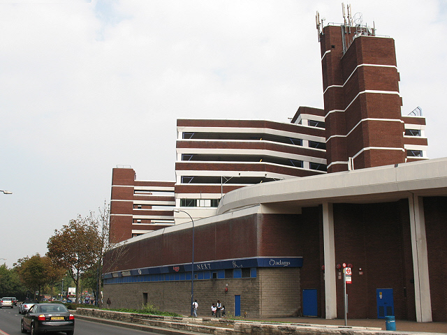 Rear of the Lewisham Centre