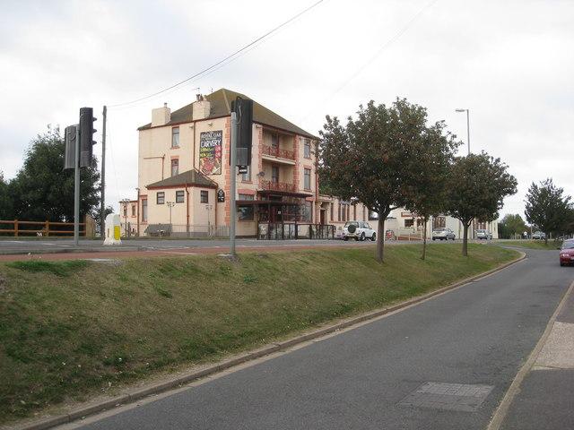 A52  and Royal Oak at Roman Bank