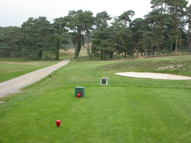 Parkstone, golf course