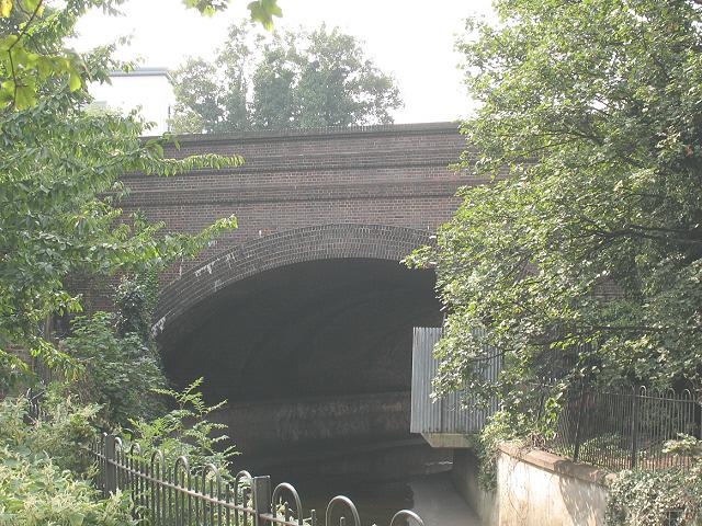Railway bridge south of Lewisham station
