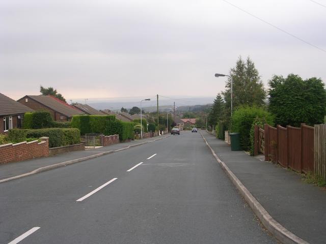 Moor Close Road - Moor Close  Parade