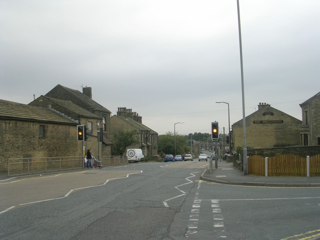 Ford Hill - viewed from Fleet Lane