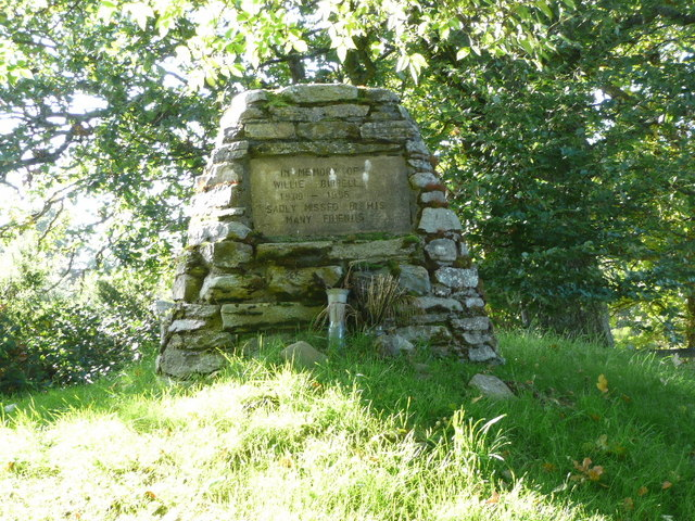 Memorial to Willie Birrell