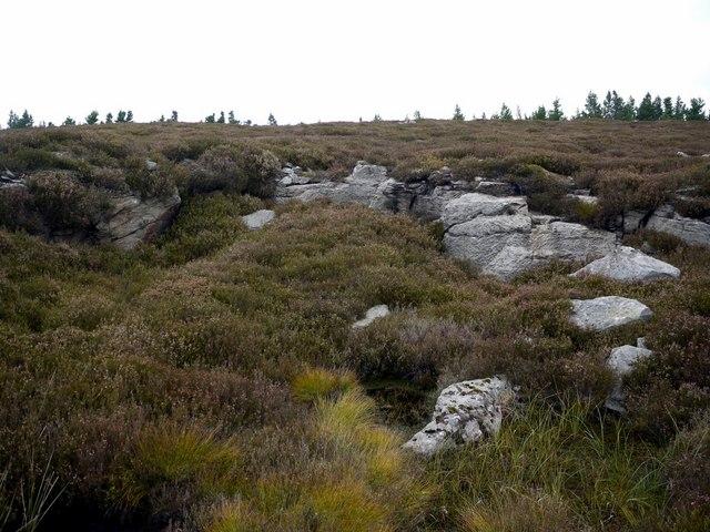 Old millstone quarry, Millstone Edge