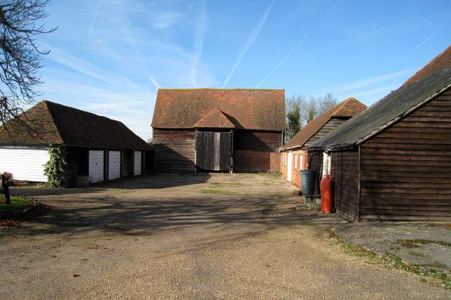 Unconverted Barn at Hazelden Farm, Marden Road, Cranbrook, Kent