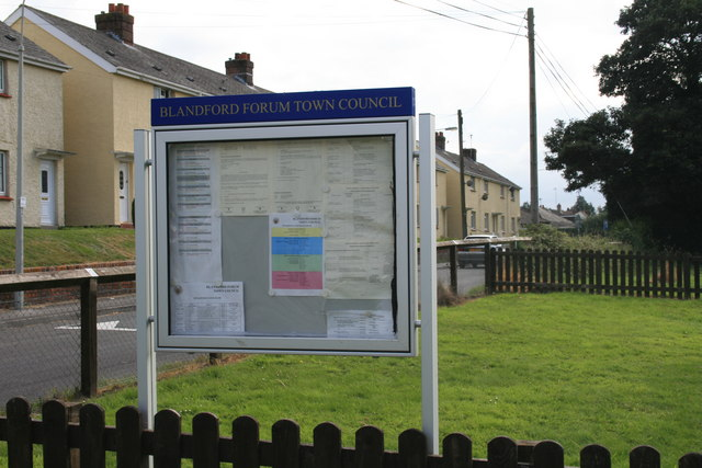 Town council notice board