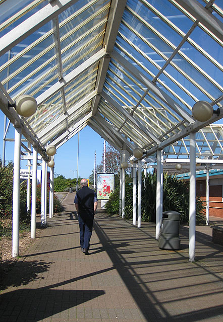 Canopy, Swansea West Services