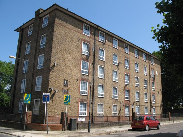 Rowley House, Watergate Street / Trevithick Street, SE8