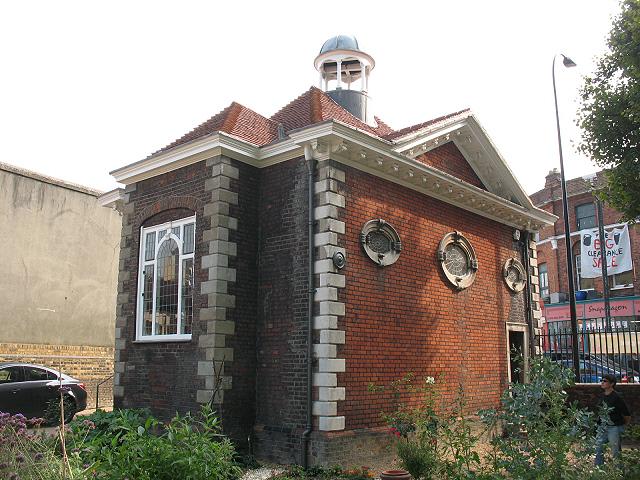 Boone's Chapel: rear