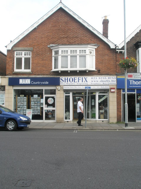 New location for Shoefix in Cosham High Street
