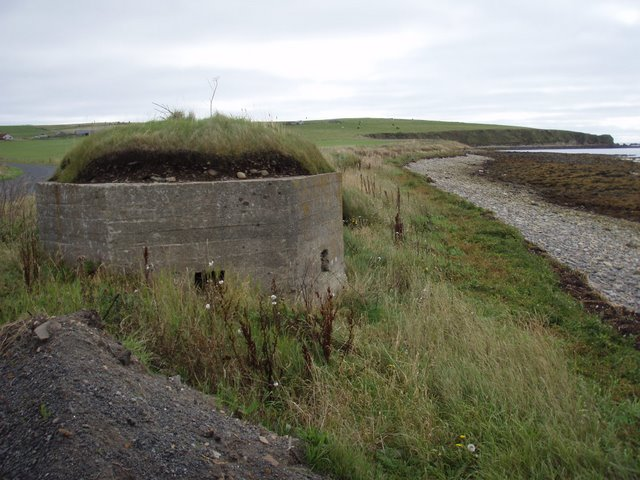 World War II defence on the South Walls