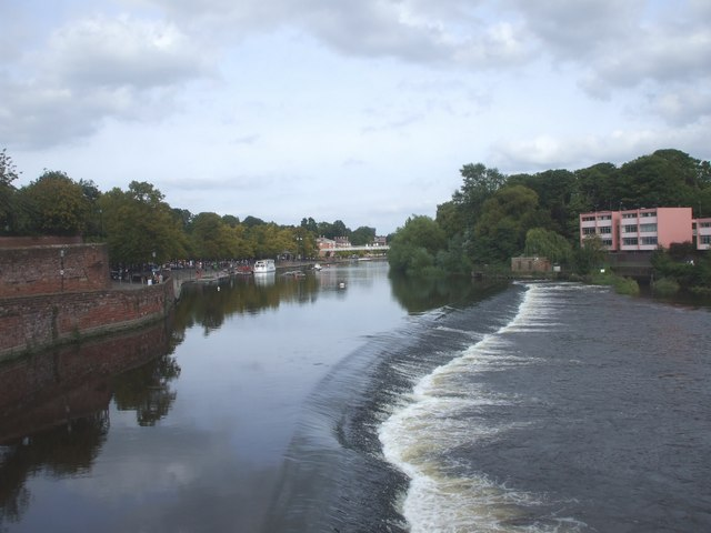 The weir, Chester