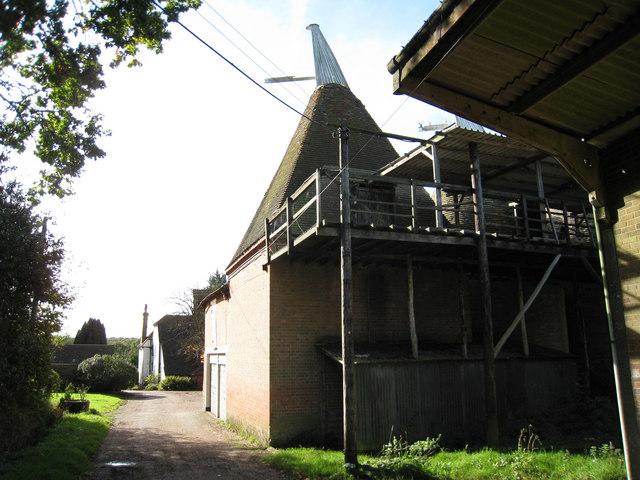 Hazelden Farm Oast, Marden Road, Colliers Green, Kent