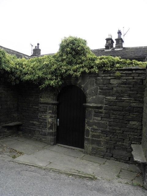 Gate to Headley Hall