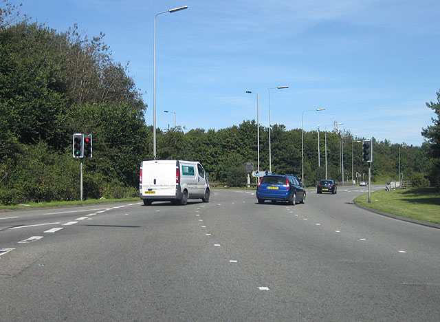 A48 roundabout