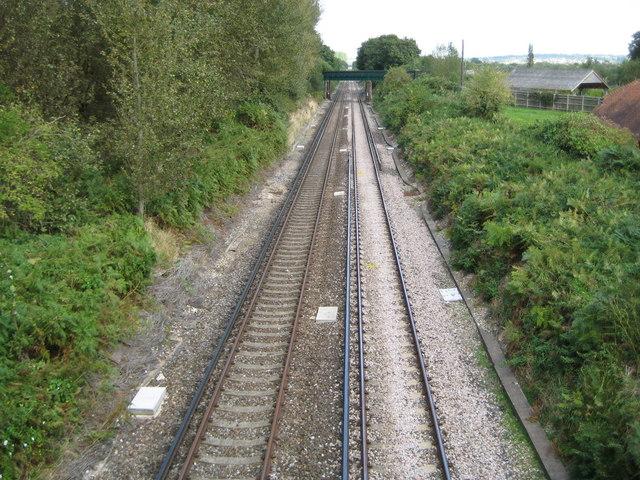 Coldwaltham: Arun Valley railway line