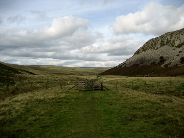 Pennine Way at Holmwath