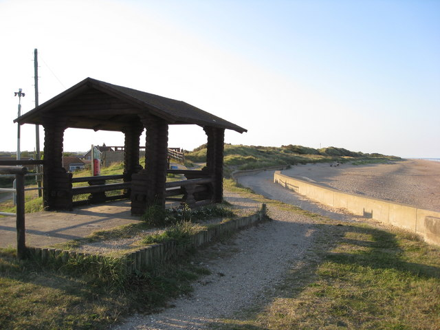Shelter and Footpath at Chapel Point