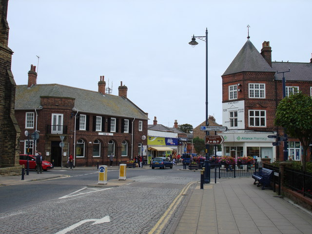 Station avenue, Filey
