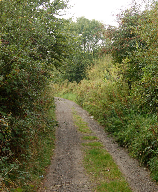 County unclassified road in Napton village