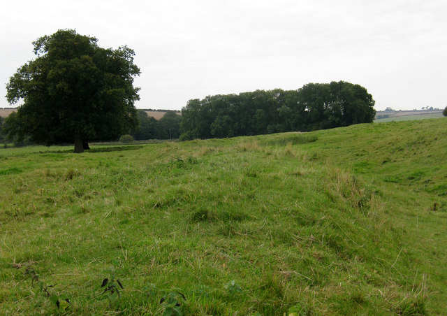 Priory earthworks