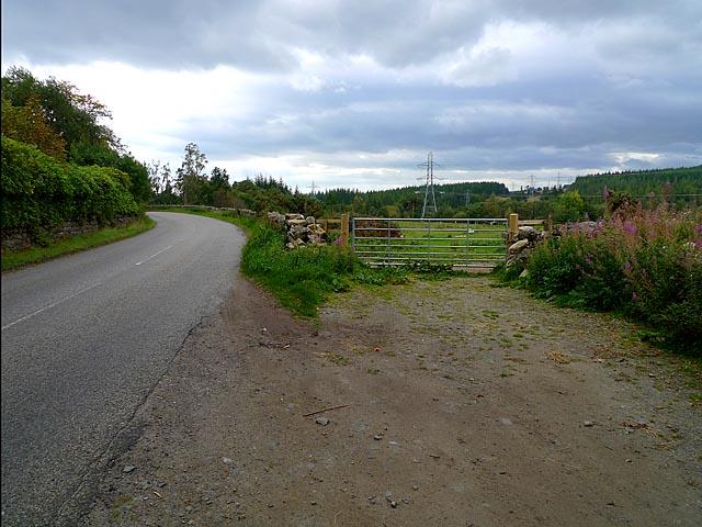 Field Gate near Dal Neich