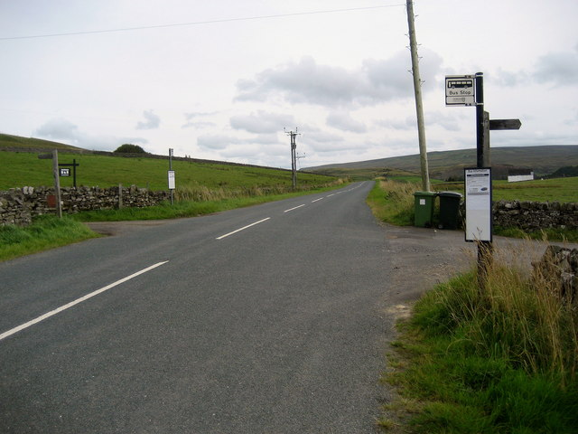 Bus Stop, Forest-in-Teesdale