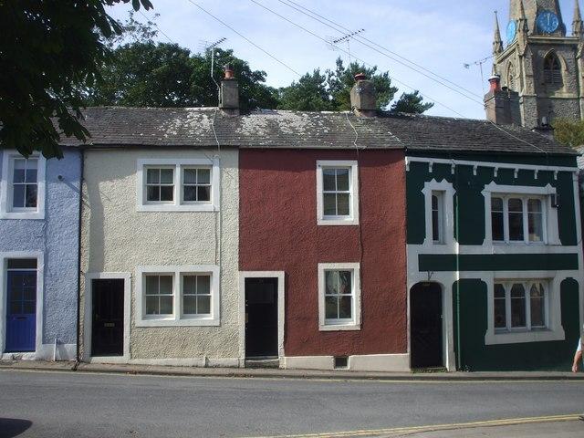 Terraced houses, Kirkgate, Cockermouth
