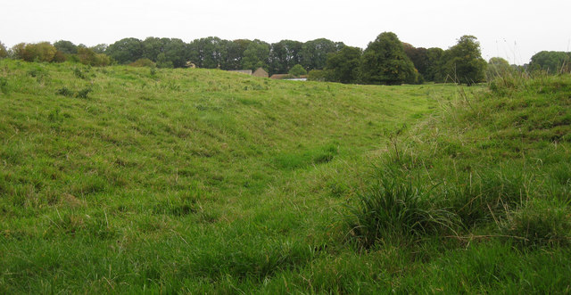 Priory earthworks, Orford