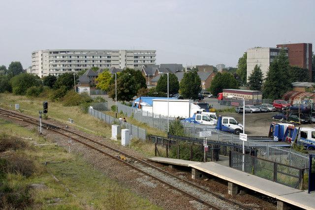 Bedford St Johns station