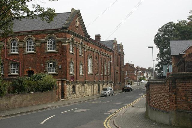 Rear of Bunyan Meeting Free Church, Bedford
