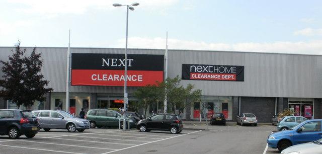 Next Clearance, Maesglas Retail Park, Newport