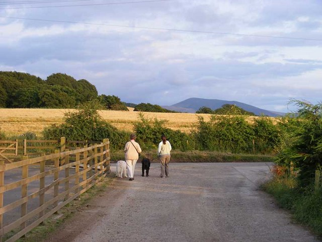 Cormiston hill top seen from Quothquan