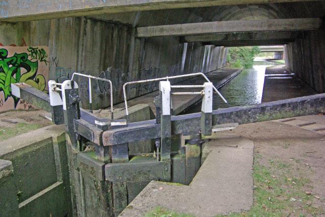 No 12 Lock, Northampton Arm, Grand Union Canal
