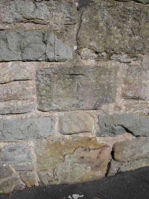 Bench mark on Gladstone Way
