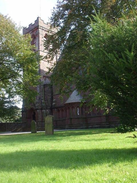 Parish church, Egremont